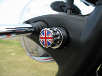 Union Jack Flag Key Holder Key Fob