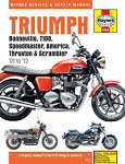 Haynes Service & Repair Manual for the Triumph Bonneville, T100, Speedmaster, America & Thruxton 2001-2012