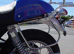 Thunderbike Triumph Bonneville, T100 & Thruxton Pannier Support Brackets