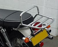 Thunderbike Bonneville, T100, Scrambler, Thruxton Chrome Luggage Rack