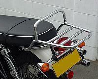 Thunderbike Bonneville, T100, Scrambler, Thruxton Chrome Luggage Rack