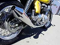 Thunderbike Thruxton Performance Mufflers