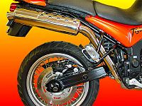 Tiger 885i (99-00 model) Stainless Performance Muffler Kit