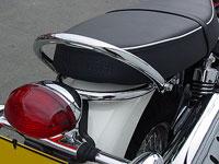 Thunderbike Bonneville, T100, Scrambler, Thruxton Chrome Grab Rail Kit