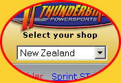 Welcome to the Thunderbike On Line Store