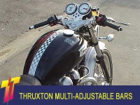 Thruxton Adjustable handlebar Kit