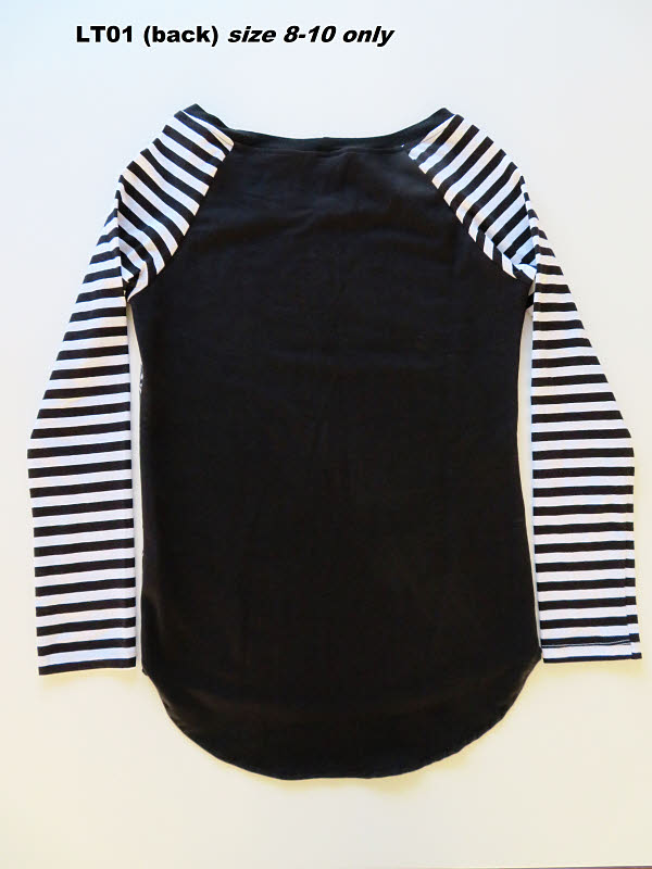 LT01 Ladies (back) top size 8-10 only