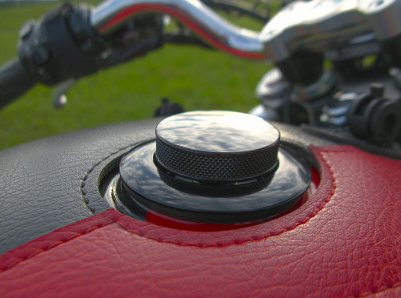 Black Pop Up Fuel Cap