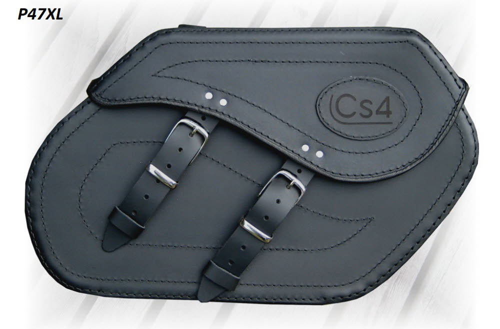 P47XL Leather Saddlebag
