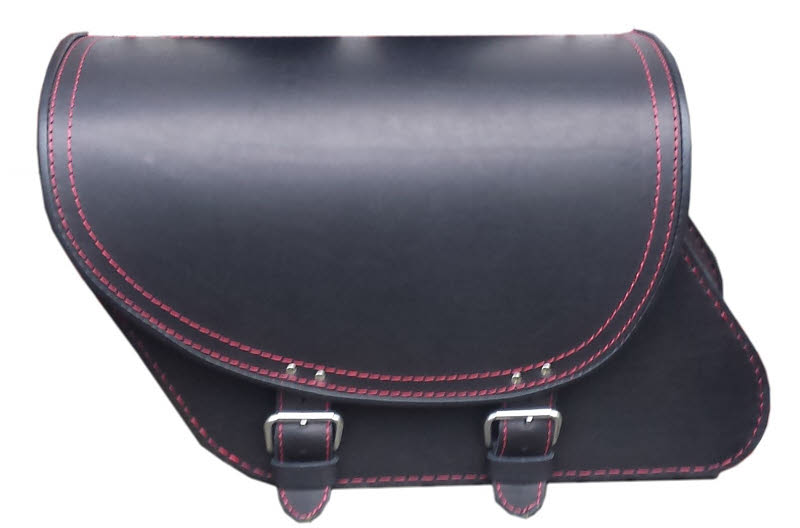P109 Leather saddlebag
