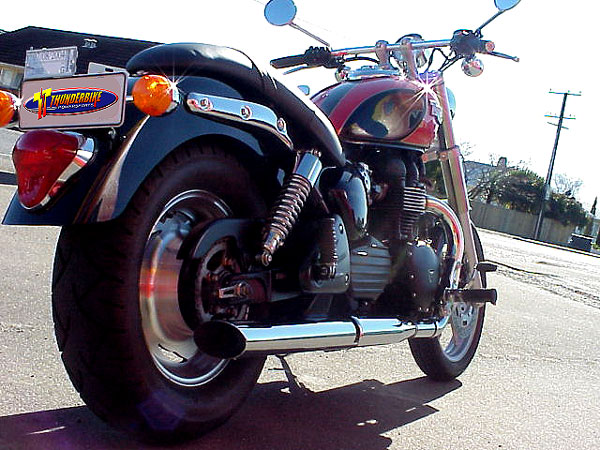 Thunderbike Performance Mufflers (Long)