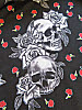 Skull and rose design